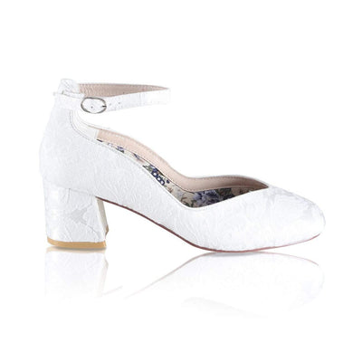 The Lovely Little Label Shoes EU 36 UK 3 Harriet Block Heel Wedding Shoes