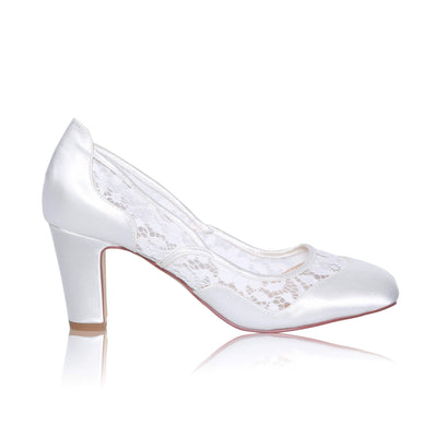 The Lovely Little Label Shoes EU 36 UK 3 Marlene Block Heel Wedding Shoes