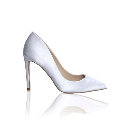 The Lovely Little Label Shoes EU 36 UK 3 Meghan Satin Heel Wedding Shoes
