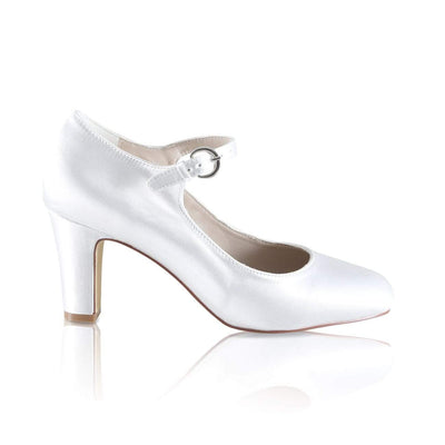 The Lovely Little Label Shoes EU 36 UK 3 Milly Block Heel Wedding Shoes