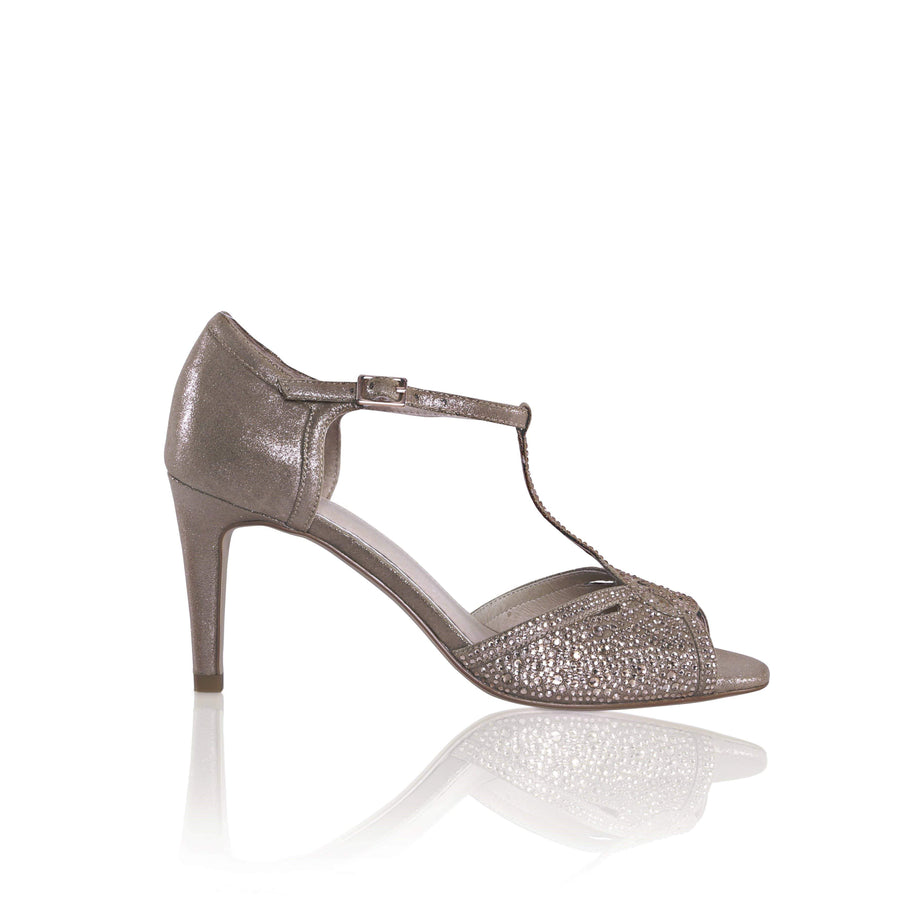 The Lovely Little Label Shoes EU 36 UK 3 / Silver Luna Shimmer