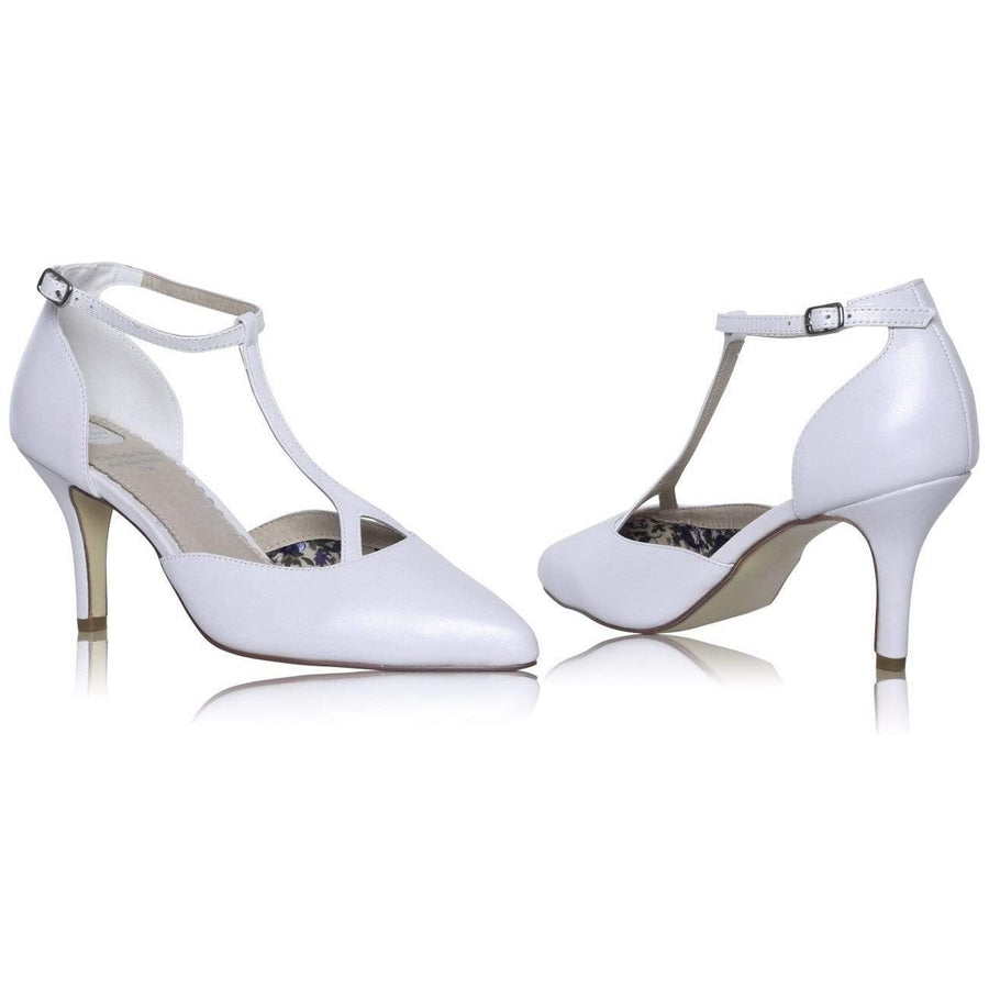 The Lovely Little Label Shoes EU 36 UK 3 Jamie T-Bar Bridal Shoe