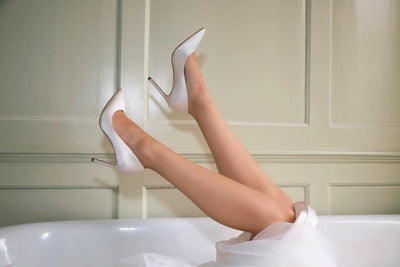 The Lovely Little Label Shoes Meghan Satin Heel Wedding Shoes
