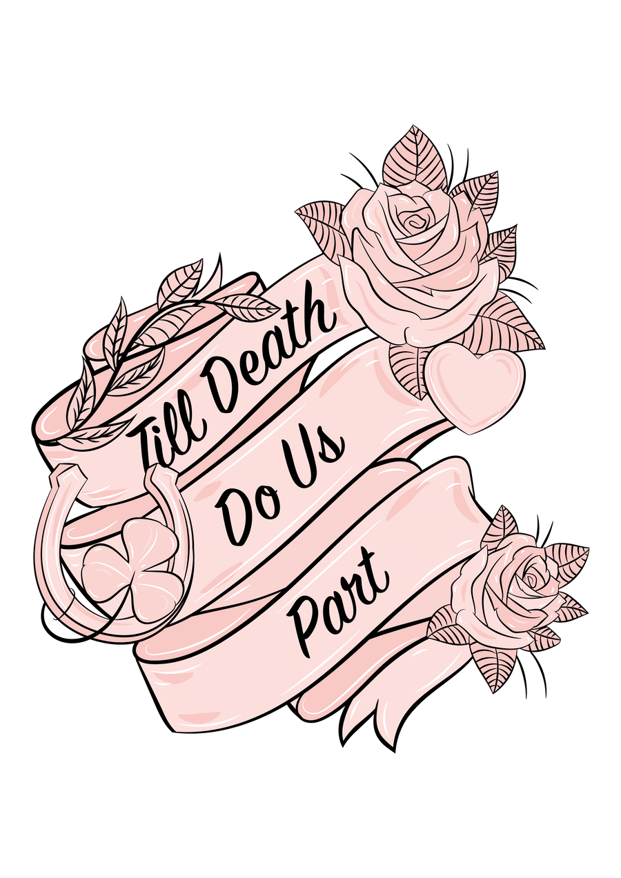 Till Death Do Us Part - Bride Sweatshirt