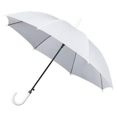 The Lovely Little Label Umbrella Classic White Wedding Umbrella Pack - 5 wedding umbrellas for the bridal party