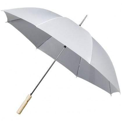 The Lovely Little Label Umbrella Golf White Wedding Umbrella - Pack of Five