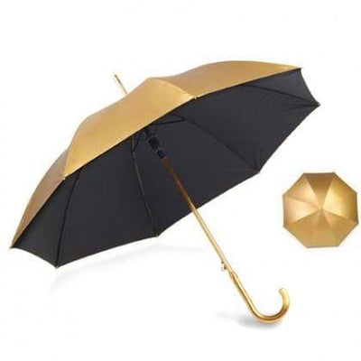 The Lovely Little Label Umbrella Metallic Gold Wedding Umbrella