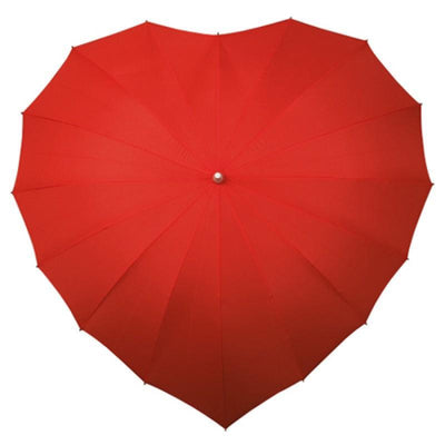 The Lovely Little Label Umbrella Red Heart Umbrella