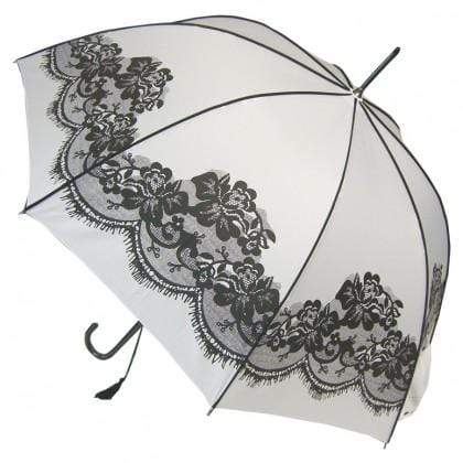 The Lovely Little Label Umbrella Vintage White Wedding Umbrella