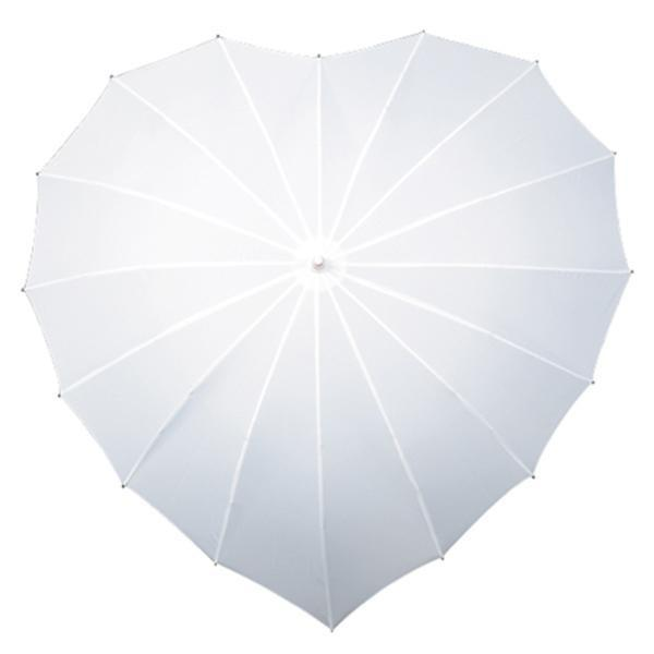 The Lovely Little Label Umbrella White Heart Umbrella