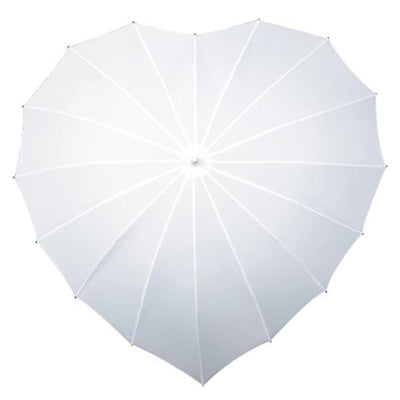 The Lovely Little Label Umbrella White Kiss the Rain Umbrella Set