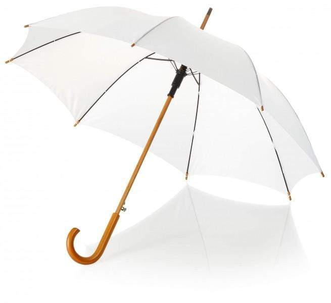 White Kiss the Rain Umbrella Set