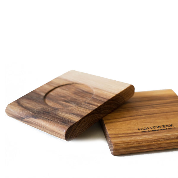 Hickory wood coasters handmade handcrafted in Colorado