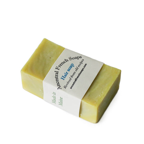 Hair Soap - Lemon - Rudder & Fern