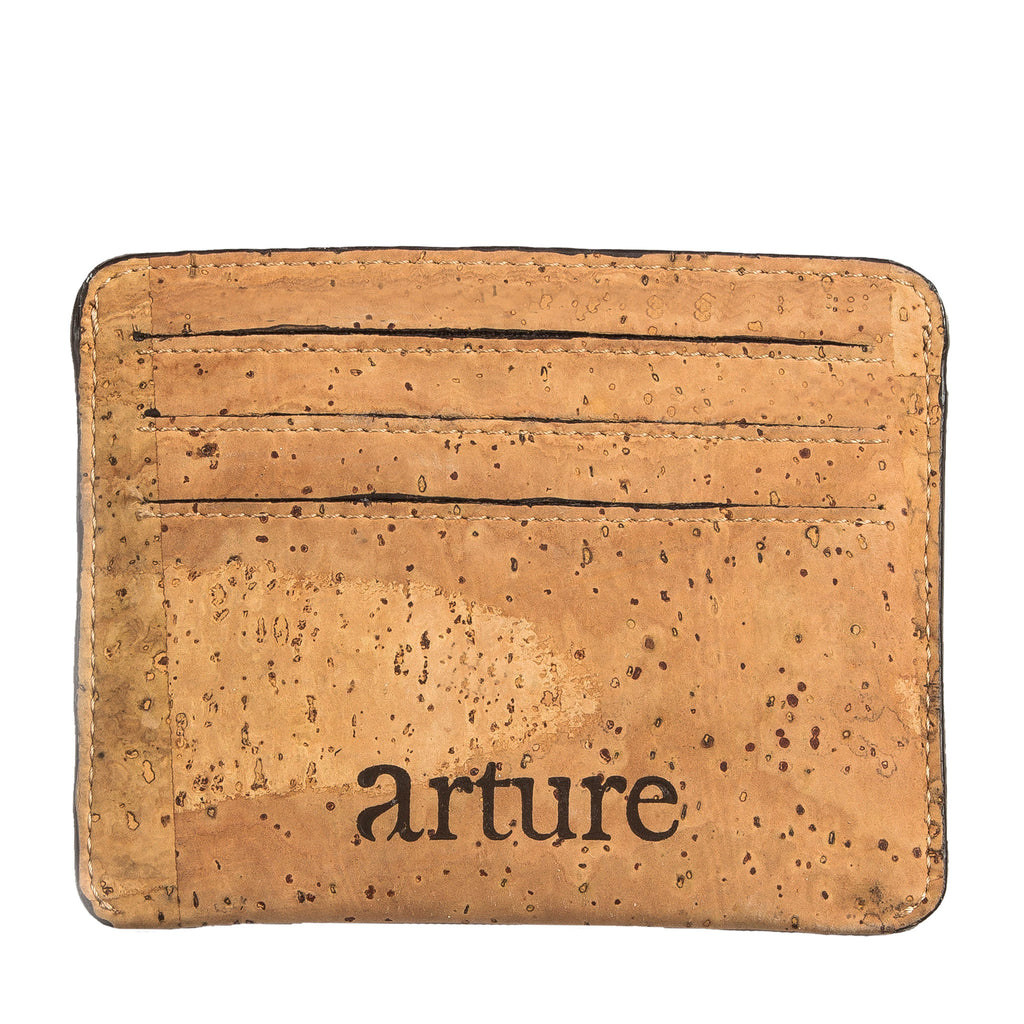 Reilly Card Case - Natural - Rudder & Fern