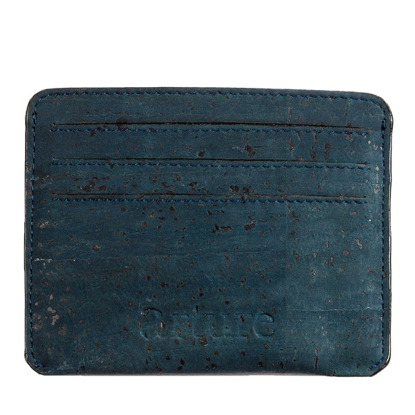 Reilly Card Case - Blue - Rudder & Fern