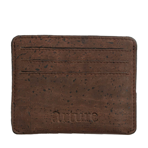 Reilly Card Case - Brown - Rudder & Fern