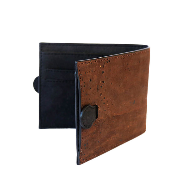 Arden Minimal Wallet - Brown - Rudder & Fern
