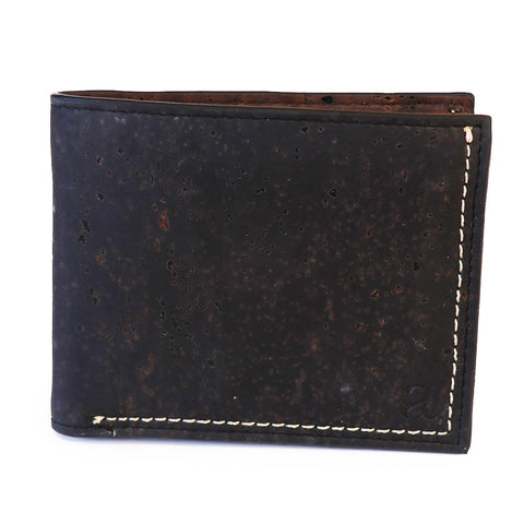 Gale Men's Slimfold Wallet - Black - Rudder & Fern