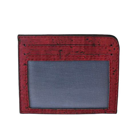 Rio Card Case - Maroon - Rudder & Fern