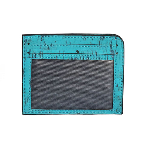 Rio Card Case - Teal - Rudder & Fern
