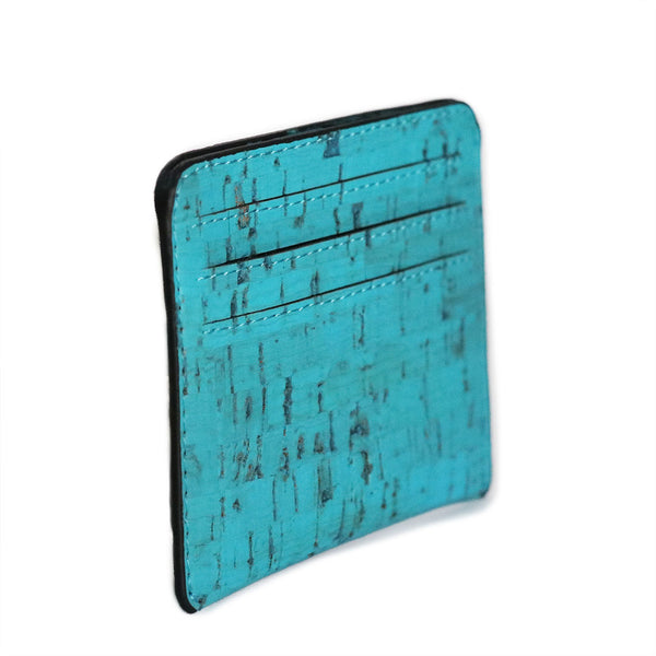 Reilly Card Case - Teal - Rudder & Fern