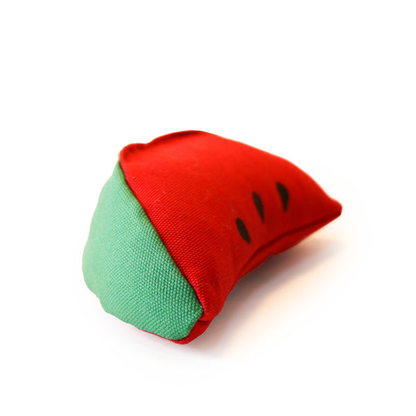 Watermelon Slice - Catnip Toy - Rudder & Fern