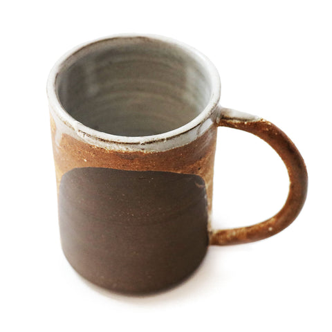 Dark Crackle Mug