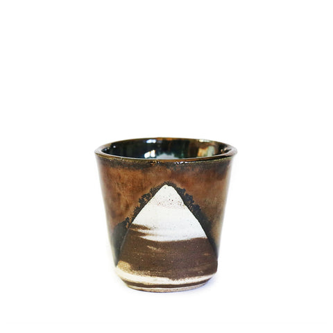 Marbled Metallic Cup - Rudder & Fern