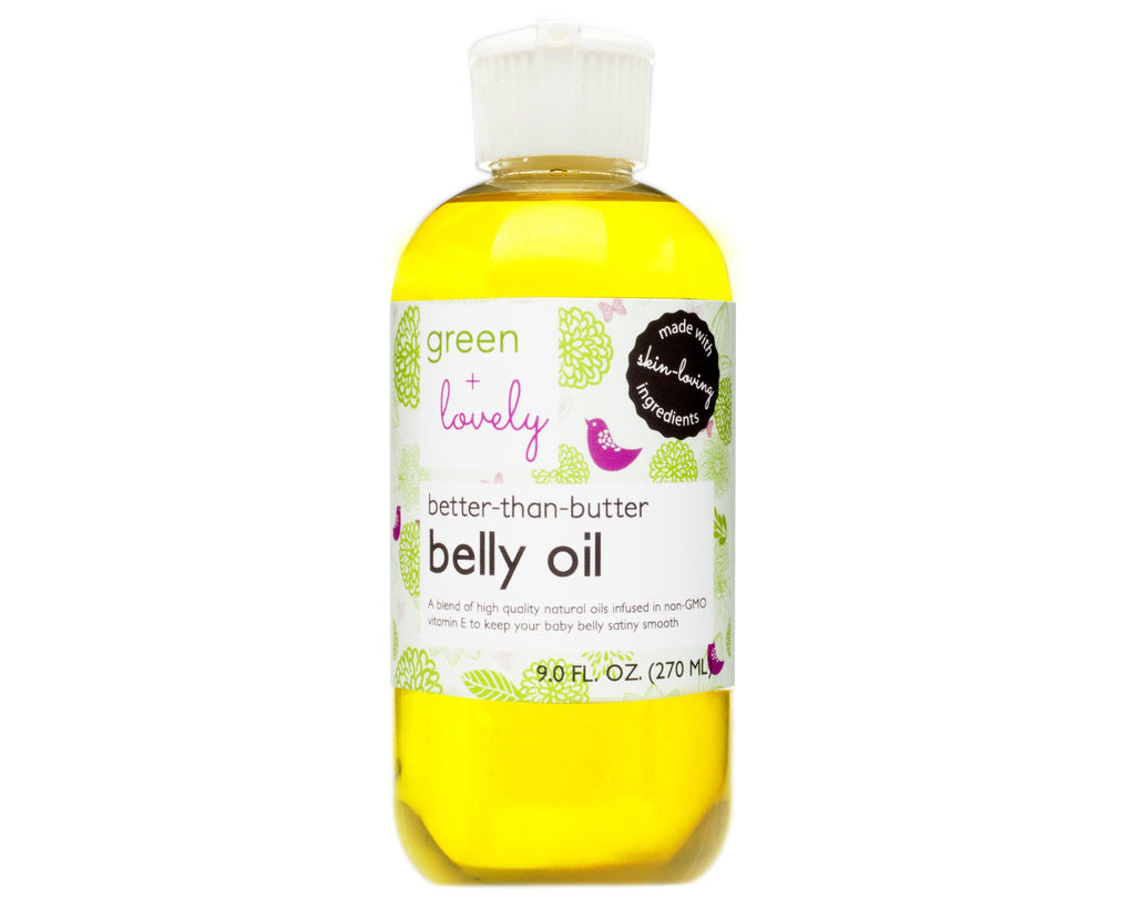 Organic Pregnancy Belly Oil - Rudder & Fern