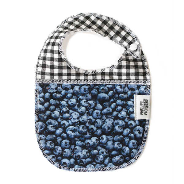 BABY BIB: Blueberries