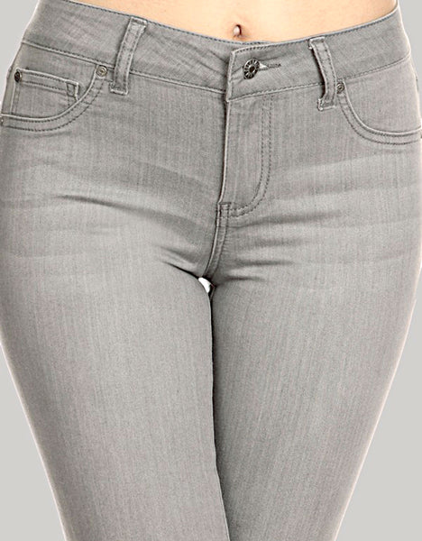 Gray Denim Jegging