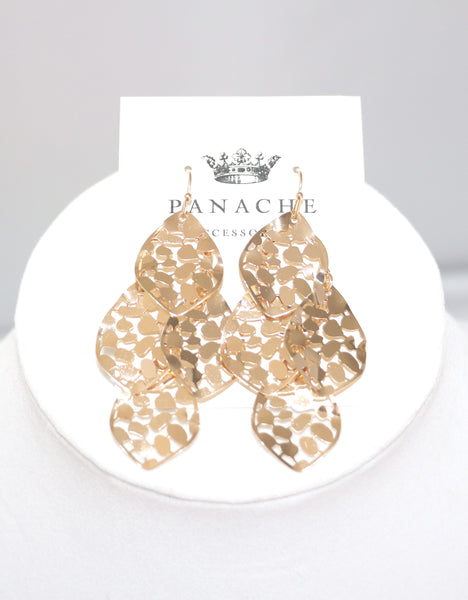 Glam Earrings in Gold