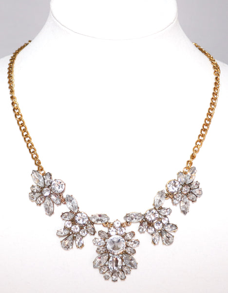 necklace, statement necklace, stone, gold, bling, glam
