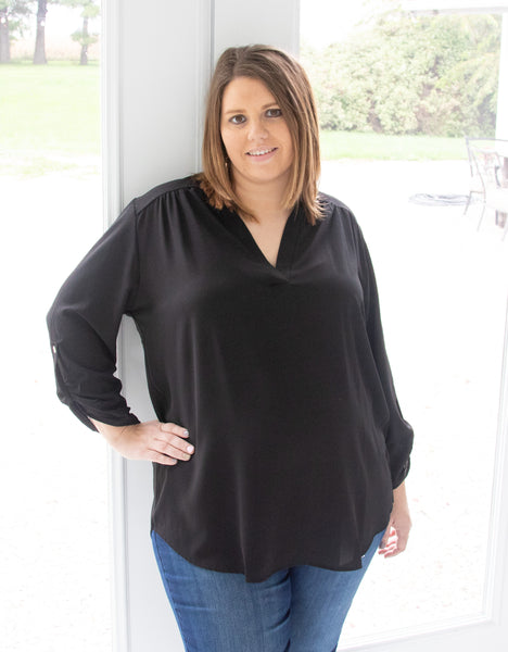 plus-size-black-blouse