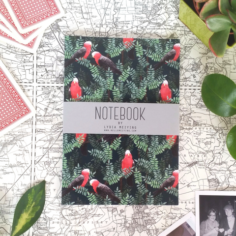 Red Galah Notebook