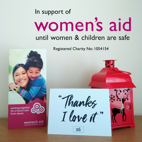 Our Charity of the Year - Women's Aid