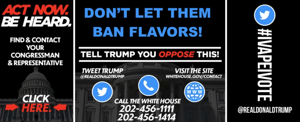 DON'T LET THEM BAN FLAVORS!