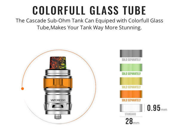 Vaporesso Cascade Replacement Glass