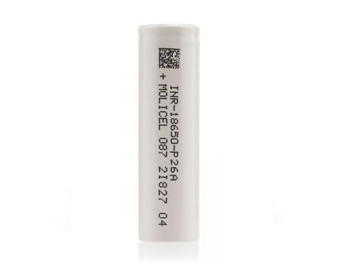 Molicel P26A 18650 2600mAh 25A Battery