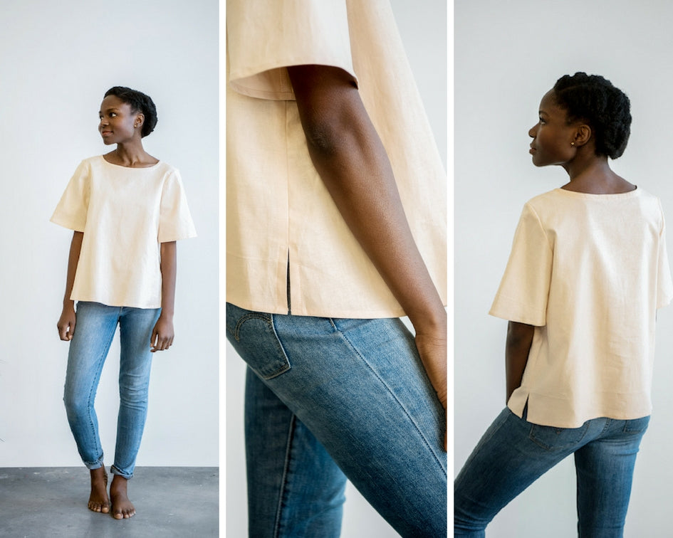 Designed With A Purpose: Washed Tent Sleeve Shirt