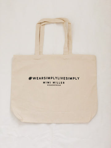 Carry-All Cotton Tote