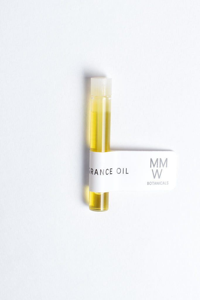 MMW Botanicals: All-Natural Fragrance Oil Sample