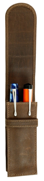 FPR Two Pen Leather Case