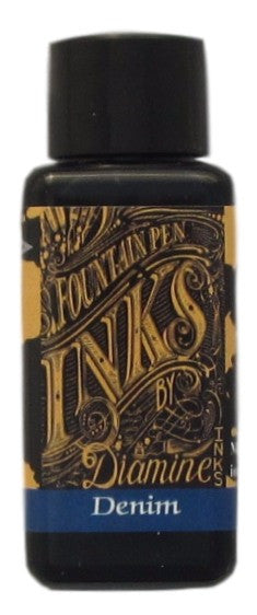 diamine denim ink bottle