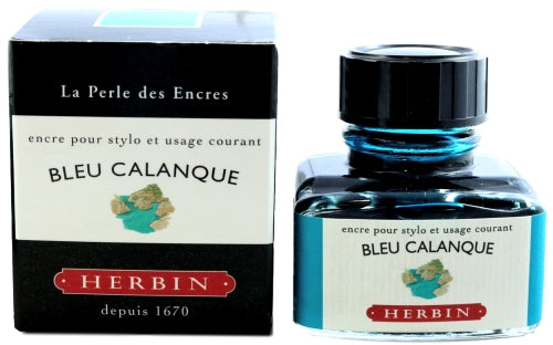 J. Herbin Bleu Calanque Fountain Pen Ink -30ml