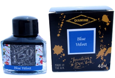 Diamine Blue Velvet 150th Anniversary Fountain Pen Ink -40ml