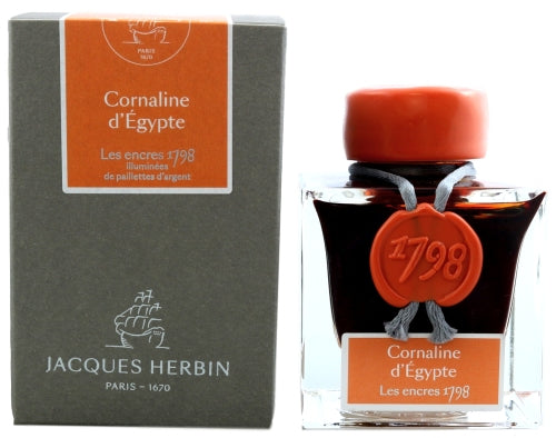 J. Herbin 1798 Cornaline d'Égypte Fountain Pen Ink -50ml