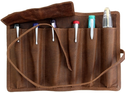 FPR Leather Roll-up Pen Pouch