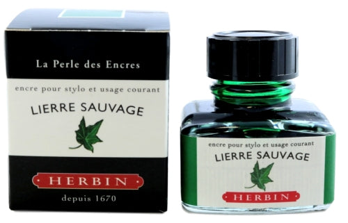 J. Herbin Lierre Sauvage Fountain Pen Ink -30ml